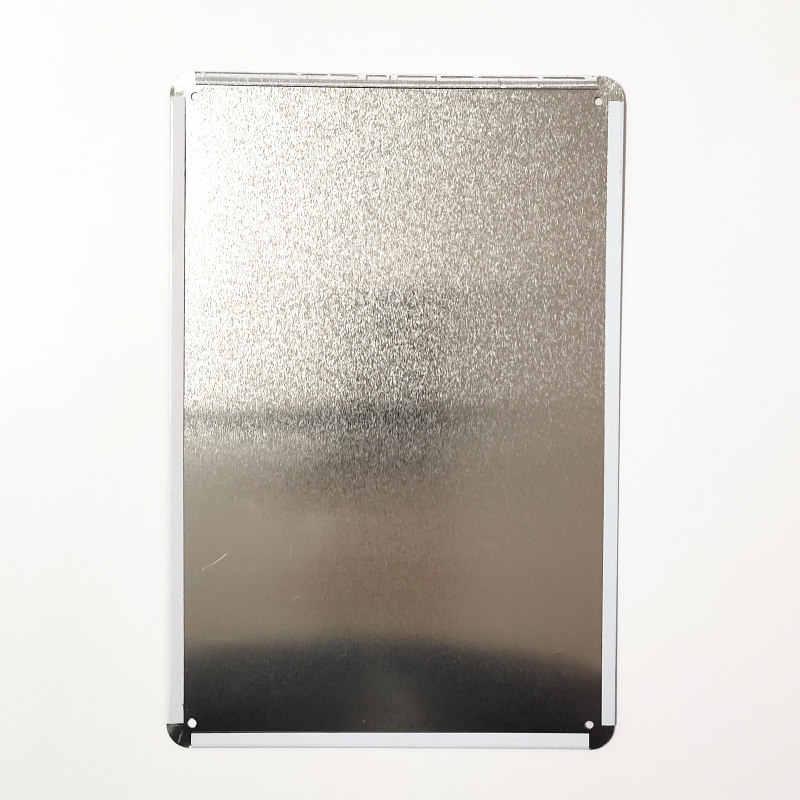 الخمسينات الهزلي نمط الرجعية الغسيل تسجيل جدار ديكور المعادن خمر البلاك المشارك الغسيل غرفة ديكور لوحة 20x30 سنتيمتر