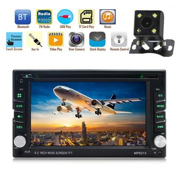 2 Din 7 HD Bluetooth Touchs Screen Car Video Player Stereo Radio FM AUX USB SD MP5 GPS Navigation FM Wireless Remote Control image