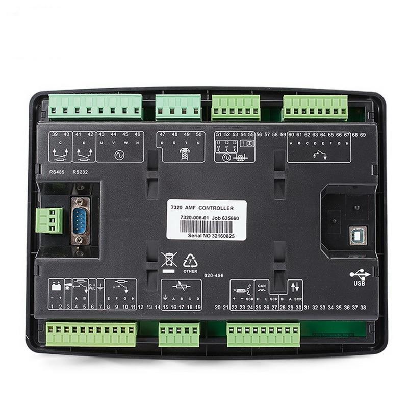 AMF diesel generating set controller terminal box LCD generator controller gense