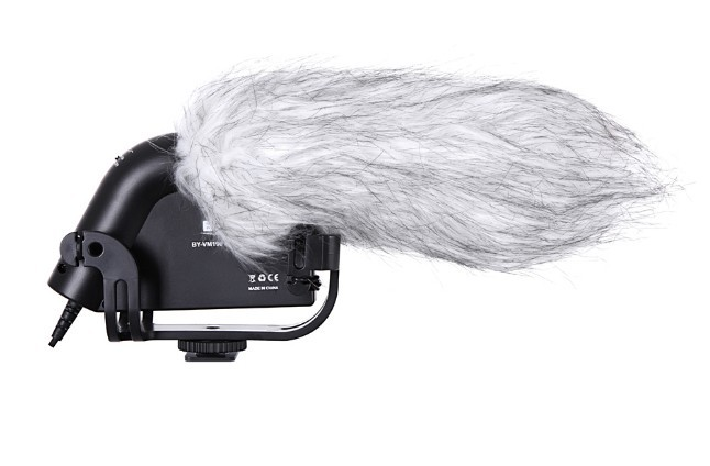BOYA-Stereo-Video-Shotgun-Microphone-with-Windshield-for-Canon-Nikon-Camera-Camcorder-BY-VM190 (2)