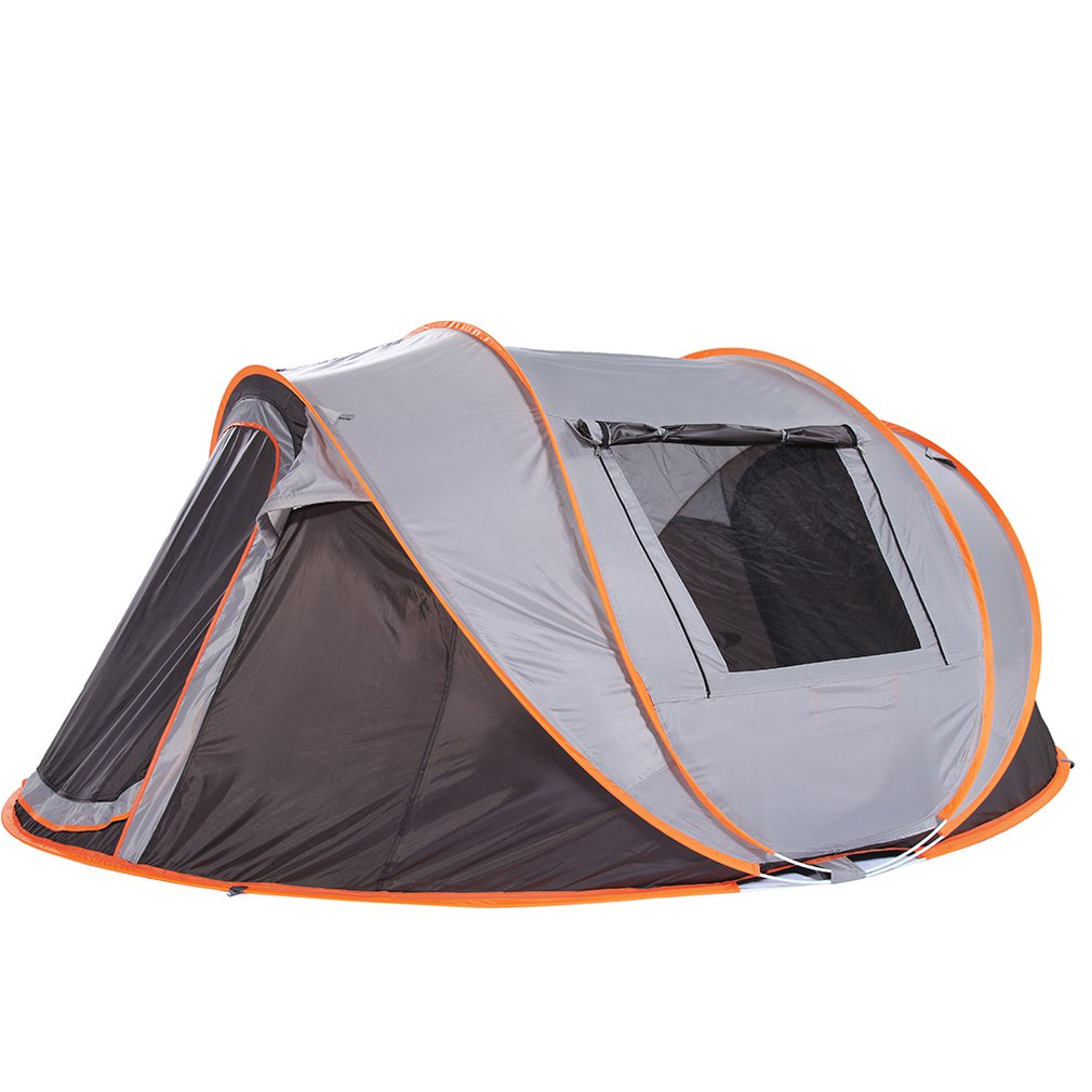Casual Fully Automatic Tent Portable Rainproof Tent Double Layers Outdoor Camping Hiking Fishing TentCasual Fully Automatic Tent Portable Rainproof Tent Double Layers Outdoor Camping Hiking Fishing Tent