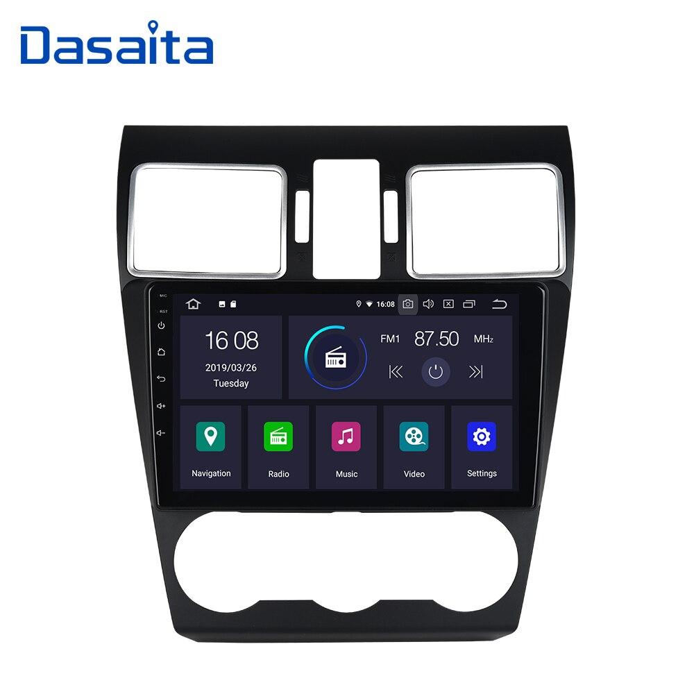 """Dasaita 9 """"GPS ナビゲータ 1 ディンアンドロイド 9.0 カーラジオスバルフォレスター 2016 2017 2018 ヘッドユニット 1080 1080p ビデオ Bluetooth  グループ上の 自動車 &バイク からの 車用マルチメディアプレーヤー の中 1"""