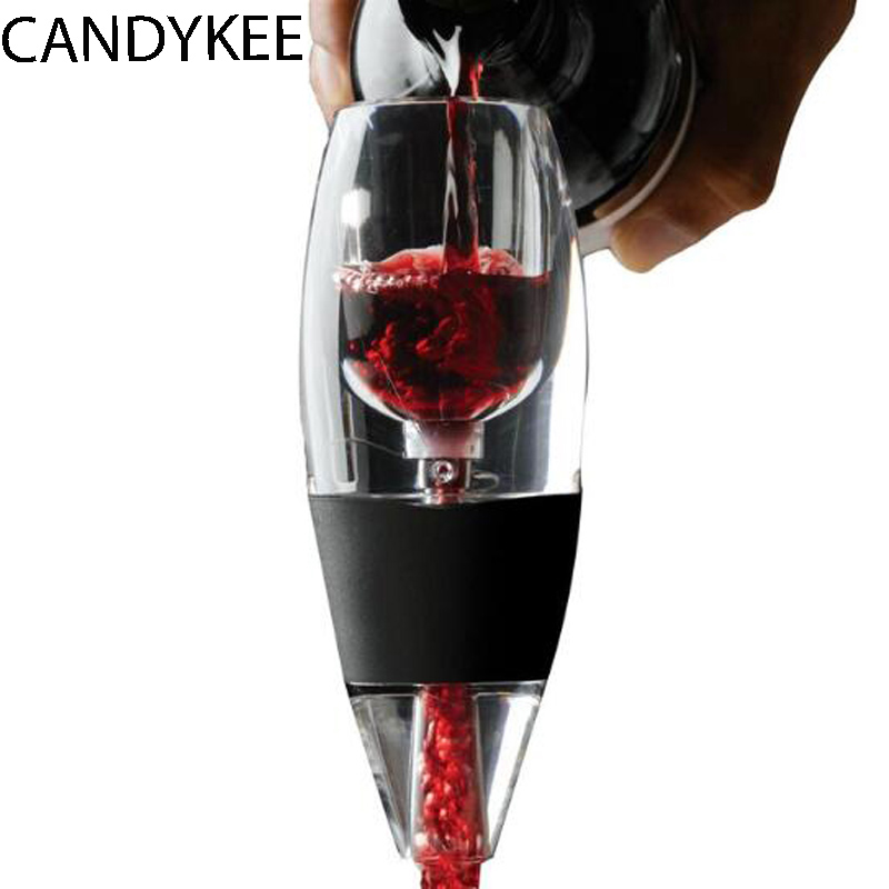 Perfect Christmas Gift Bar Tools Magic Wine Decanter Set Essential Equipment Red Wine Aerator Filter Set image