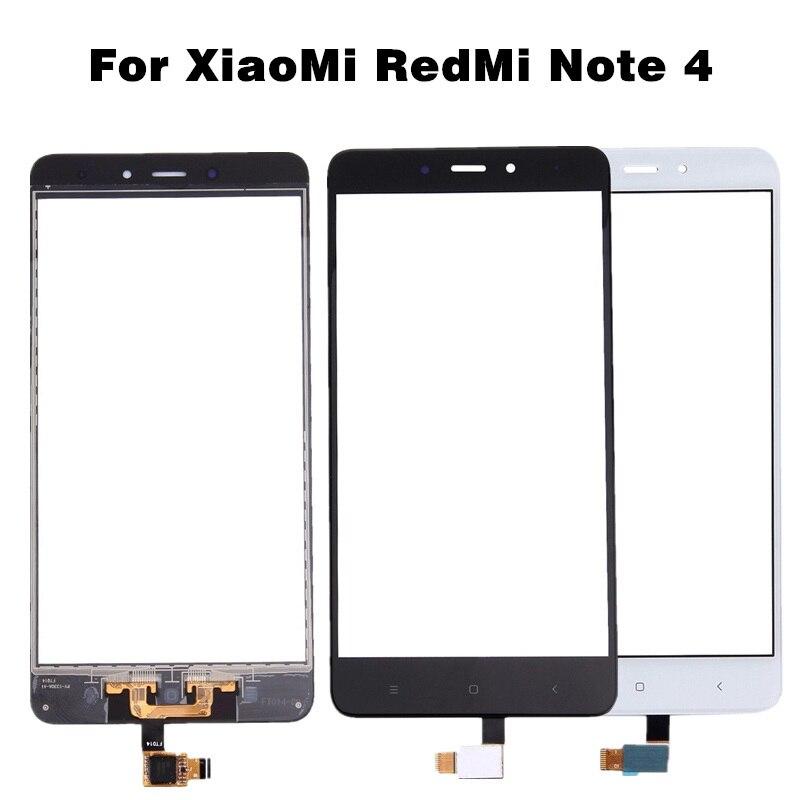 עבור Xiaomi Redmi הערה 4 נייד טלפון לוח מגע עבור RedMi הערה 4X מגע מסך Digitizer תיקון חלקים