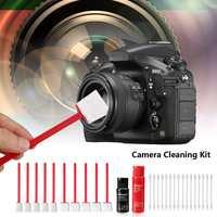 Sensor de limpeza cotonete APS-C cmos/ccd lente kit mais limpo para dslr digital camera rod solução algodão cotonetes telefone tela do computador