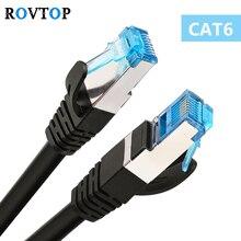 Rovtop Cat6 плоский кабель Ethernet Rj45 Lan Сетевой кабель Соединительный кабель для портативных компьютеров маршрутизатор Ethernet Z2