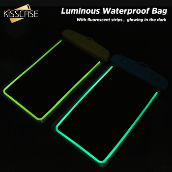 KISSCASE Waterproof Mobile Phone Case For Huawei P20 Pro Mate 20 Lite P30 P10 Luminous Bag Cases For iPhone XS XR X Cover Coque 1