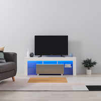 Panana High Gloss Front LED TV Stand Modern LED Living Room Furniture TV Cabinets design 130cm