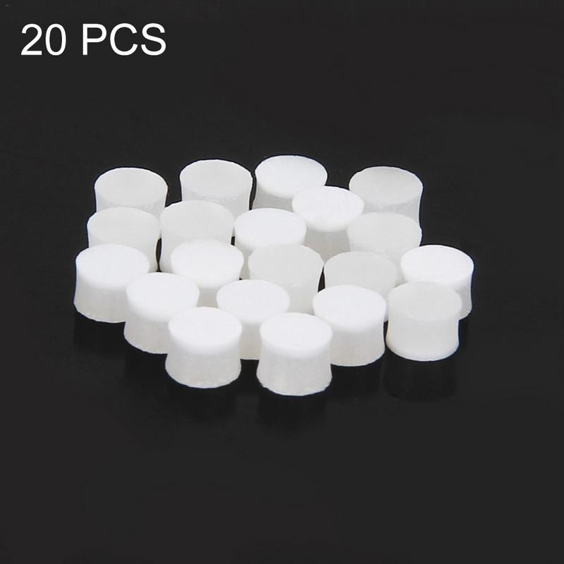 20pcs/lot 6mm 6.3mm 3mm Diameter And 2.5mm Thickness White Pearl Shell Fingerboard Dots With Inlay For Guitar Ukulele Banjo Delaying Senility