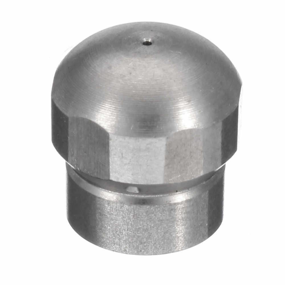 """0.5mm-1.2mm 3/8 """"1/8"""" 1/4 """"1/2"""" Hogedrukreiniger Afvoer Slang Nozzle Riool Schoon rioolreinigers Nozzle Voor Koud Water Hogedrukreiniger"""