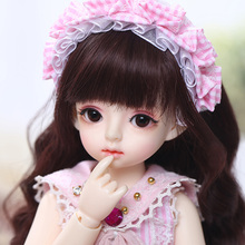 Ginger Miadoll BJD SD Dolls 1/6 Body Model Baby Full Set with Hair Clothes Shoes Accessories Joint Doll