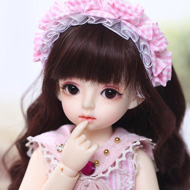 Имбирные куклы Miadoll BJD SD, модель тела 1/6, полный комплект с волосами, одежда, обувь, аксессуары, шарнирная кукла