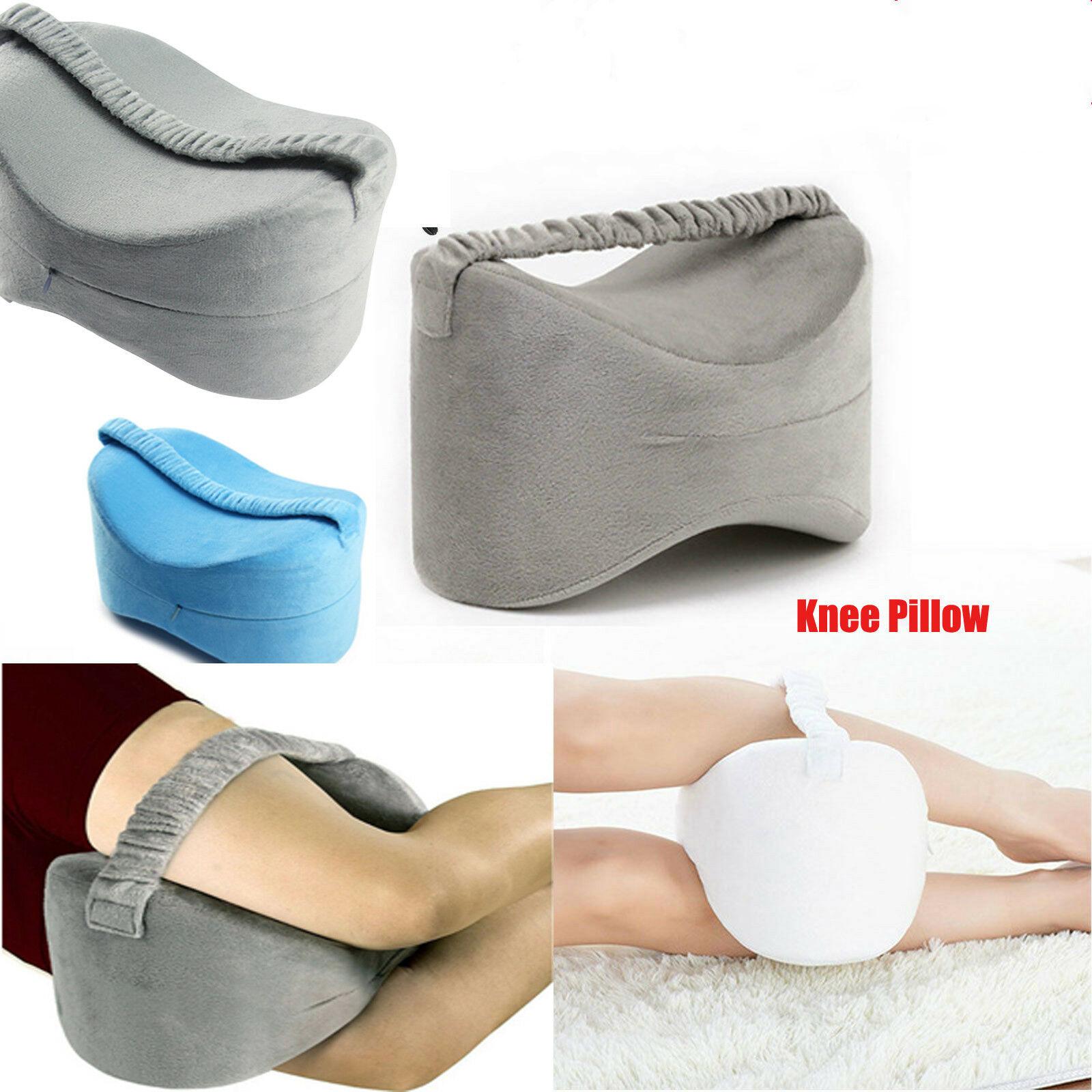 Memory Foam Leg Knee Pillow Comfortable Hips Knee Support Sciatic Pain Relief US