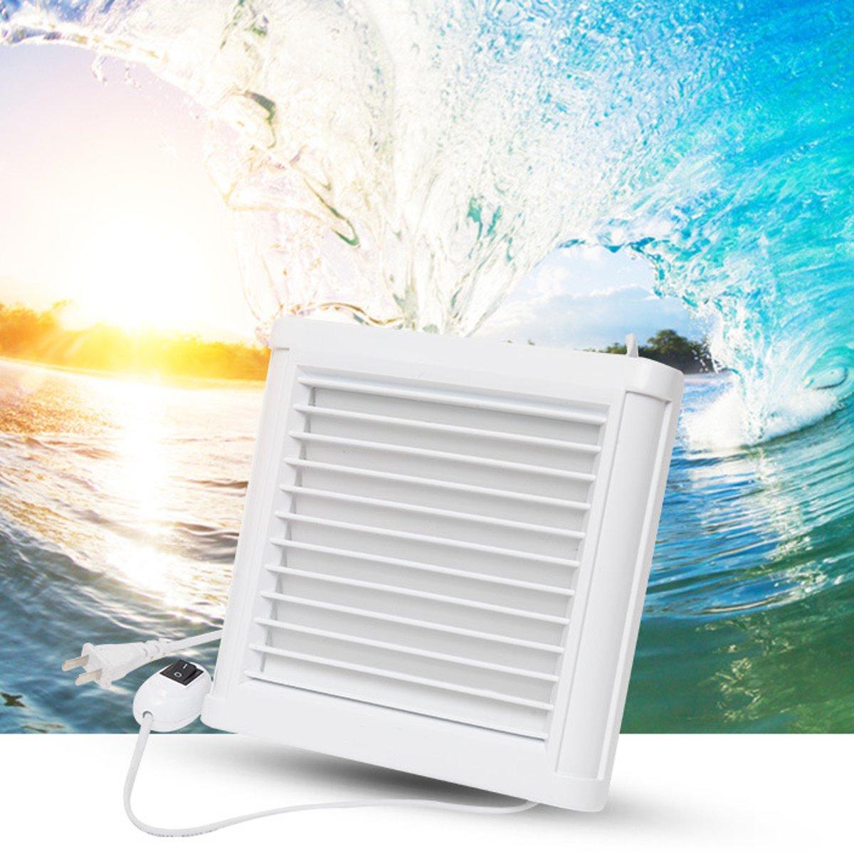Waterproof Mute Bathroom Extractor Exhaust Fan Ventilating Strong Fan For Kitchen Toilet Window Ventilation Fans 4Inch 6 Inch