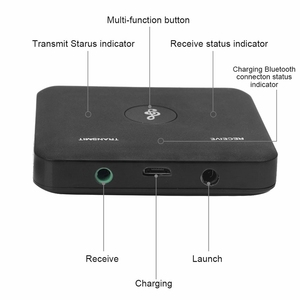 Image 3 - Bt1 Bluetooth 4.2 Transmitter Receiver 2 In 1 Universal Wireless Audio Adapter For Phone Pc Home Tv Stereo 3.5Mm Audio+Usb&Rca