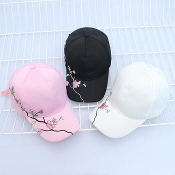 High Quality Unisex Cotton Outdoor Baseball Cap Plum embroidery Embroidery Snapback Fashion Sports Hats For Men & Women Cap 4