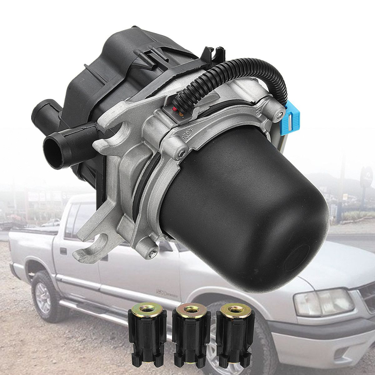 Secondary Air Injection Pump for Chevrolet S10 Blazer/GMC Sonoma Jimmy 4.3L 11.4x16x18cm 12560095 215364 AIP18 AC215417Secondary Air Injection Pump for Chevrolet S10 Blazer/GMC Sonoma Jimmy 4.3L 11.4x16x18cm 12560095 215364 AIP18 AC215417
