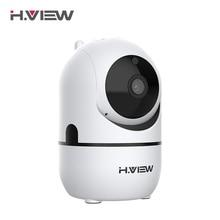 H. VIEW Wifi ip-камера 1080 p ip-камера камеры 1080 p камера видеонаблюдения s 720 p 2mp 1mp PTZ автоматическое отслеживание человеческого 2,4G