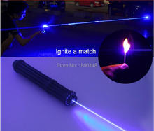 Strong power Military blue laser pointer 1000W 1000000m 450nm flashlight Burning Match/dry candle/black/Burn cigarettes Hunting цена в Москве и Питере