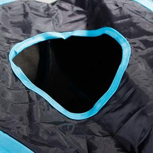 Image 3 - Practical Cat Tunnel 5 Way Foldable Pet Toy Tunnel  Rabbit Cat and Dog Game Pipe Black blue