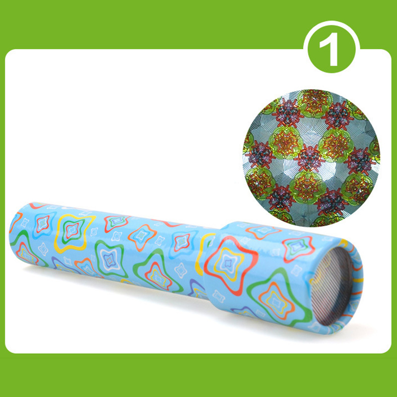 1pc Rotating Kaleidoscope Rotation Fancy World Toy Kids Auti