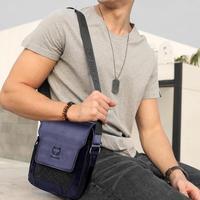 BULLCAPTAIN Brand Vintage Man bags Mens Genuine Leather Handbag Man leather Crossbody Phone Bag Designers Men's Messenger Bags