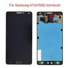 Jpfix супер OLED Дисплей для Samsung Galaxy A7 A700 ЖК-дисплей Дисплей Сенсорный экран планшета Ассамблеи Замена
