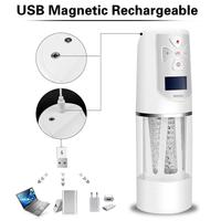 Rotating Male Masturbator Rechargeable Oral Sex Toy with 6 Female Moans for Aural Stimulation