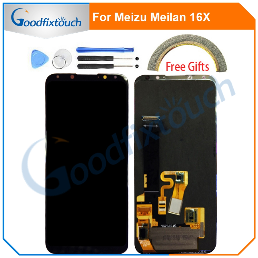 LCD Screen For <font><b>Meizu</b></font> Meilan <font><b>16X</b></font> LCD <font><b>Display</b></font>+Touch Screen Digitizer Assembly Touch Panel For Meilan 16 X Replacement Parts image