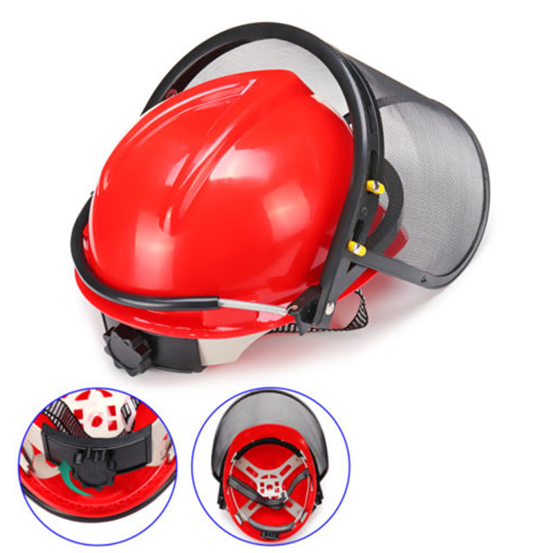 Chainsaw Brushcutter Helmet Safety Hattective Ear Muff Mesh Visor Mask Gift NewChainsaw Brushcutter Helmet Safety Hattective Ear Muff Mesh Visor Mask Gift New