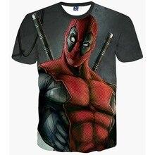 New Fashion T-shirt Hip Hop 3d Print Spiderman Harajuku Animation T shirt Summer Cool Tees Tops Brand Clothing