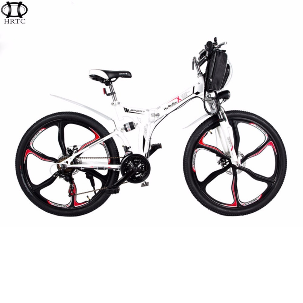 21 26 Inch Folding Electric Bike Speed Mountain Bike 48v Lithium Mini Long Rang Ebike Battery Pack Adult Smart Lcd in Electric Bicycle from Sports Entertainment