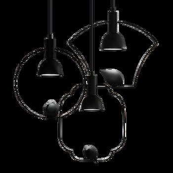 LED Modern Liontin Lampu Ruang Tamu Burung Kecil Pencahayaan Ruang Makan Nordic Besi Minimalis Pedesaan Lorong Dapur Lampu Gantung