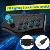 For PS3/PC USB Rocker Game Controller Arcade Joystick Gamepad Fighting Stick For Android Plug And Play Street Fighting Feeling