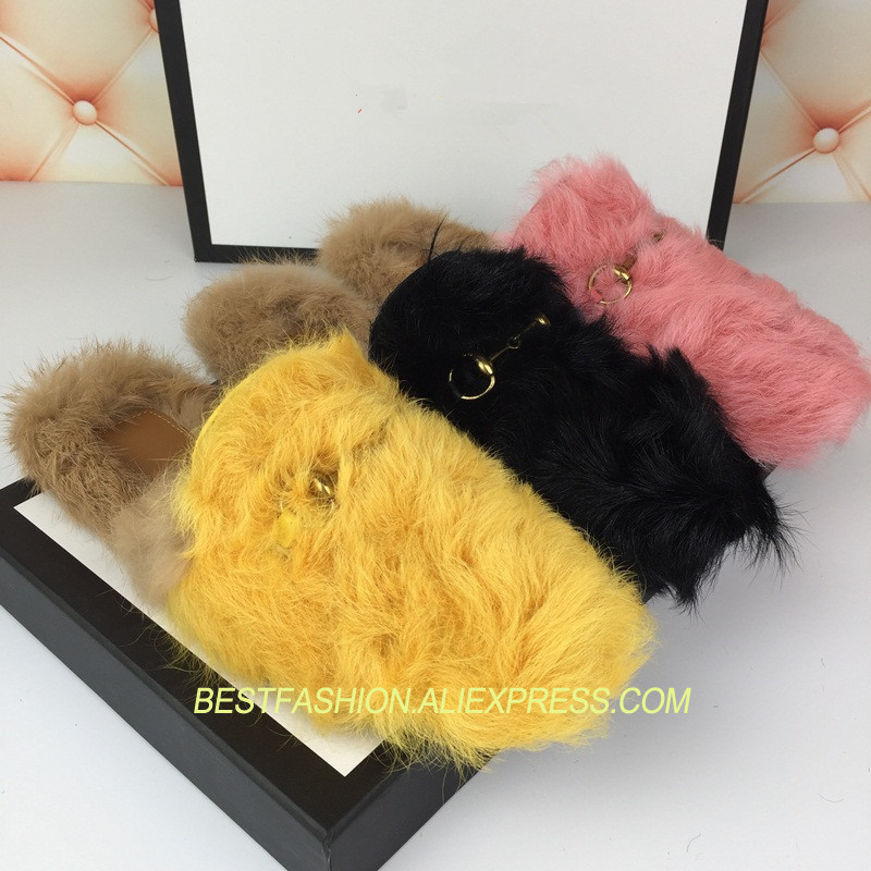 Hot  Curly Wool Fur Mules Slippers Shoes Woman Casual Lazy Flats Sheep Fur Mules Design Cozy Flats Outside Slippers MHot  Curly Wool Fur Mules Slippers Shoes Woman Casual Lazy Flats Sheep Fur Mules Design Cozy Flats Outside Slippers M