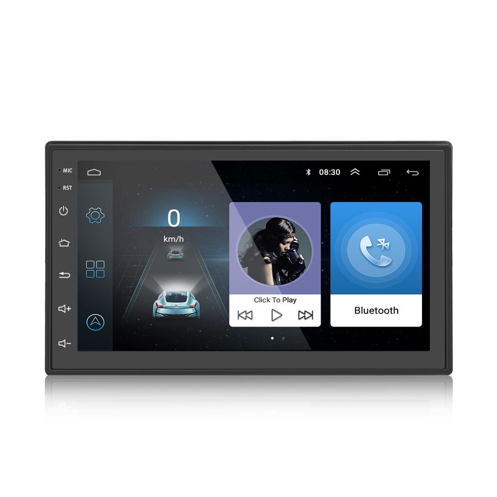 Android 6.0 autoradio voiture GPS Navigation bluetooth USB lecteur voiture accessoire Mp3 lecteur voiture médias 7 pouces HD écran WIFI