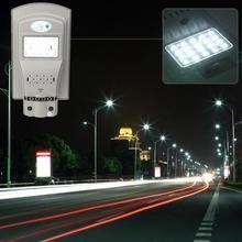 20 w 20LED À Prova D' Água Ao Ar Livre Lâmpada de Parede Sensor de Movimento Solar Integrado Luz de Rua Lâmpada de Parede Pátio