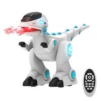 Remote Control Smart Follow Fog Spray Dinosaur Firedragon Robot Toy Singing Dancing Storytelling Puzzle Electric Dinosaur Toy