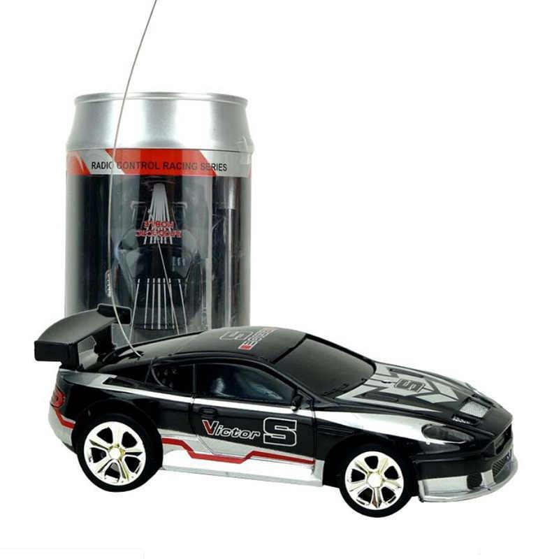 Творческий в банке кока-колы мини машинка, rc-автомобиль коллекция машинки на радиоуправлении машин дистанционного Управление Игрушки для мальчиков Дети подарок 2010b автомобили