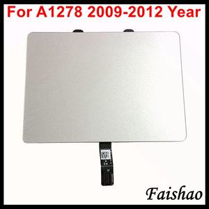 Faishao New Trackpad Touchpad with Flex Cable For Apple Macbook Pro 13'' A1278 2009 2010 2011 2012 Year Replacement