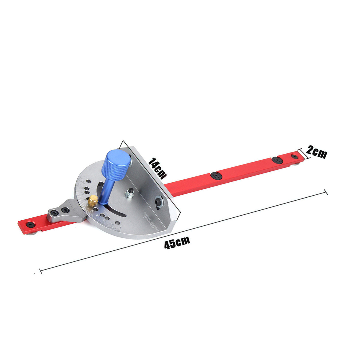 Miter Gauge Carpentry Tool For Bandsaw Table Saw Fence Cut Woodworking Guide Cutting Woodworking Tool  2019 NEWMiter Gauge Carpentry Tool For Bandsaw Table Saw Fence Cut Woodworking Guide Cutting Woodworking Tool  2019 NEW