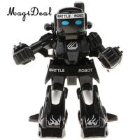 2.4G RC Sensing Robot Toys Remote Control Boxing Robots Toy Fight Battle Game ,with Wireless Two Control Joysticks