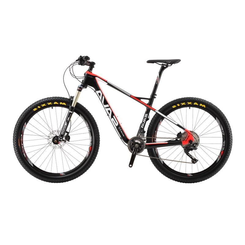 Vtt Sava Plus3.0 VTT avec VTT Shimano Xt en Fiber de carbone 29 27.5 Bicicletas VTT 29 vtt