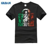 GILDAN Pancho Villa Mexico Revolution Hero Mexican Pride T-Shirt Tee New Summer Style Cool Casual Sleeves Cotton T Shirt Fashion pancho barraza tijuana