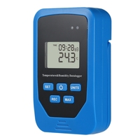 Mini Usb Humidity Temperature Data Logger Rh Temp Data Logger Recorder Humiture Recording Meter Heat Index Domestic Thermomete