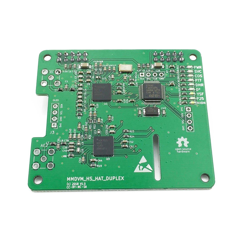 Prise en charge de Hotspot MMDVM Duplex P25 DMR YSF pour Raspberry Pi avec 2 antennes - 5