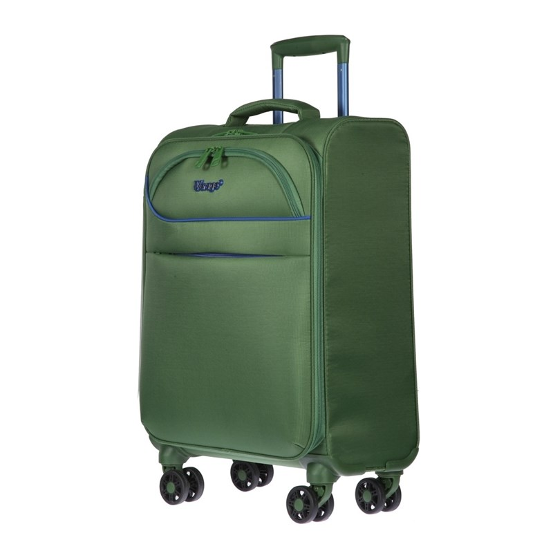 Suitcase-trolley Verage GM17019W18.5 Ivy Green цена