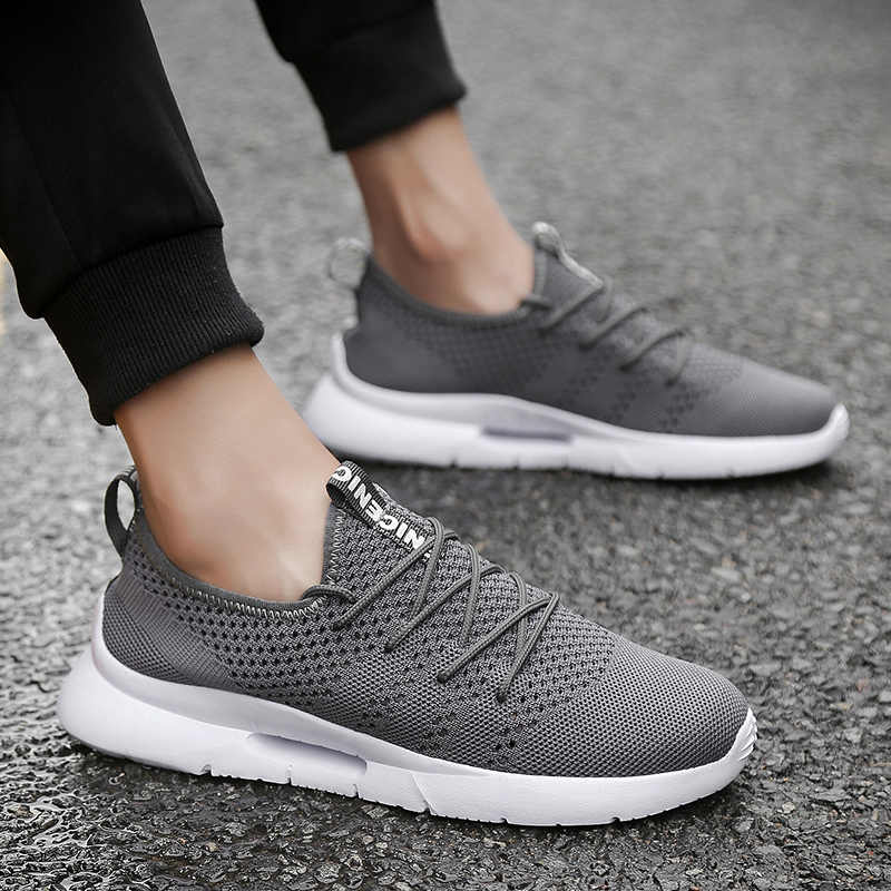 Running Shoes For Man Comfortable Outdoor Sport Shoes Men Sneakers Chaussure Homme Breathable Athletic Jogging Walking Trainers