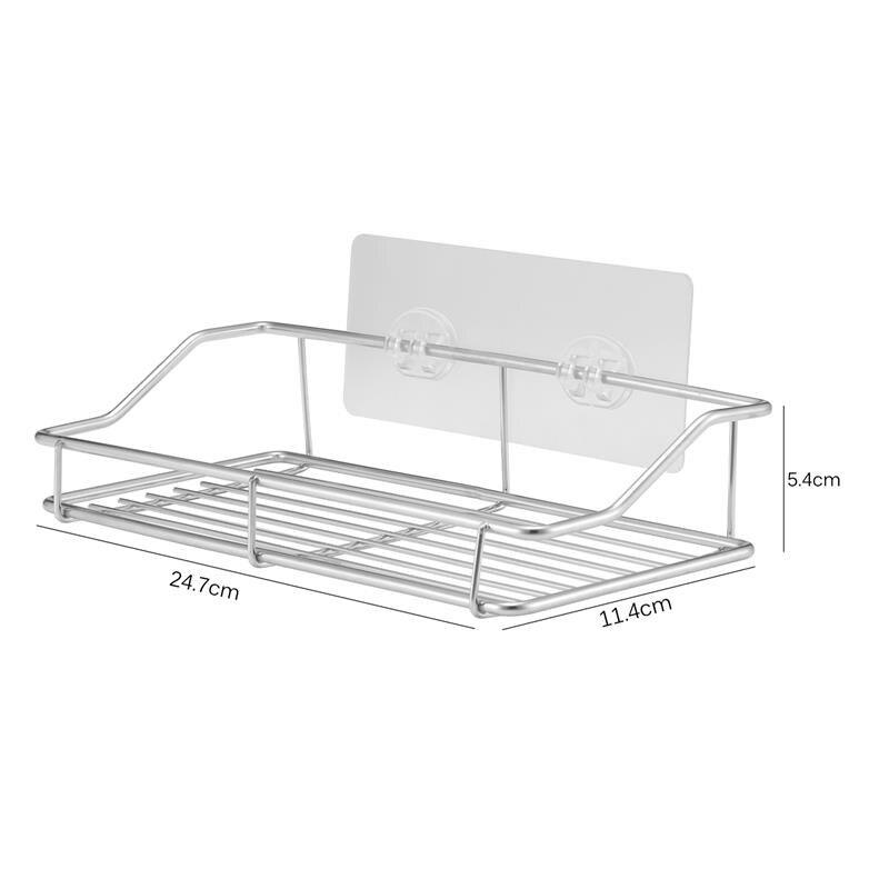 Shower Corner Caddy Bathroom Shower Self Adhesive With Glue Or Wall Mount Stainless Steel Corner Shelf