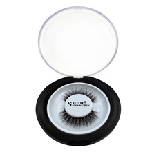 1 paire de faux cils naturels maquillage long réel 3d vison cils extension de cils doux faux cils paquet de beauté